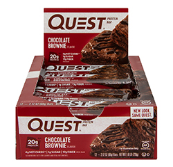 QUEST NUTRITION PROTEIN BAR (Chocolate Brownie) (Keto) 12 Bars