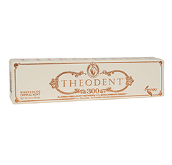 THEODENT 300 (Whitening Crystal Mint) FLUORIDE-FREE LUXURY TOOTHPASTE (3.4oz) 96.4g