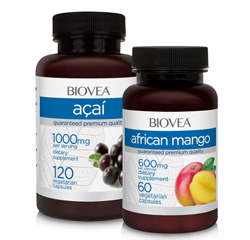 AFRICAN MANGO & ACAI ANTIOXIDANT BERRY VALUE PACK