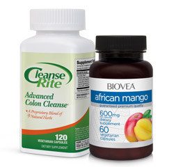 CLEANSE-RITE & AFRICAN MANGO CLEANSING VALUE PACK