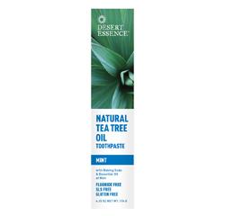 NATURAL TEA TREE  OIL (Mint) TOOTHPASTE (6.25oz) 176g