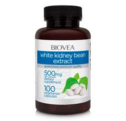 WHITE KIDNEY BEAN EXTRACT 1000mg 100 Vegetarian Capsules