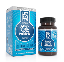 PROBIOGEN MEN'S VITALITY PROBIOTIC with Smart Spore Technology Probiotics 30 Capsules