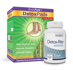 DETOX-RITE & DETOX FOOT PADS VALUE PACK