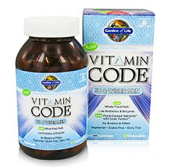 VITAMIN CODE 50 & WISER (Men) 120 Capsules
