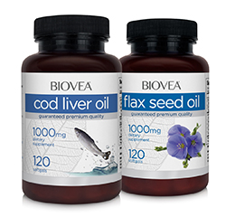 COD LIVER OIL & FLAX OIL VALUE PACK