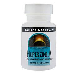 HUPERZINE A 200mcg 60 Tablets