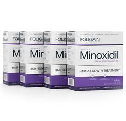 FOLIGAIN MINOXIDIL 2% HAIR REGROWTH TREATMENT For Women (24 fl oz) 720ml 12 Month Supply