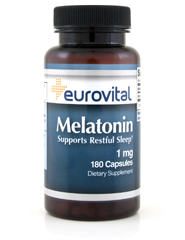 Melatonin 1mg 180 Capsules