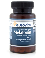 MELATONIN 3mg (Sustained Release) 90 Tablets